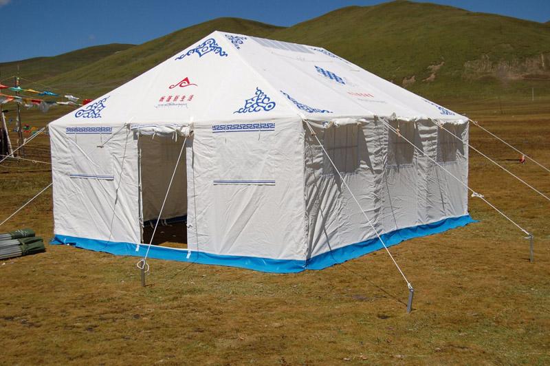 民族帐篷加工