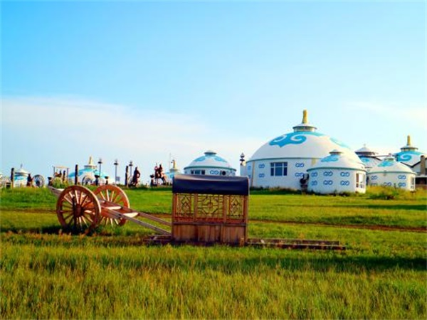 住宿蒙古包